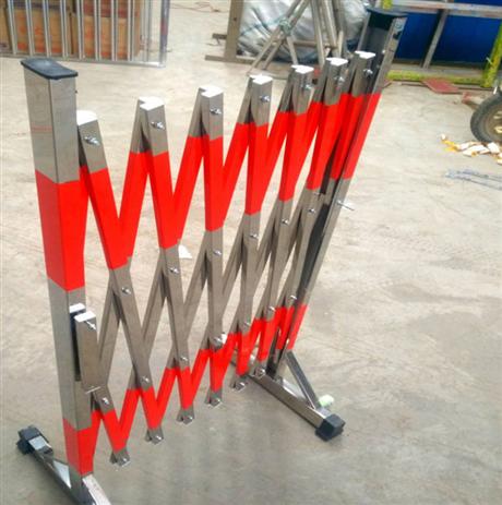 不锈钢伸缩围栏 电力施工车间围栏 学校儿童折叠可移动围栏