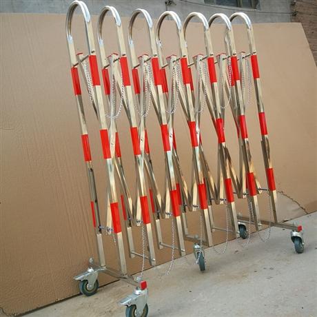 厂家定制 不锈钢伸缩护栏 拱门可移动安全围栏 门卫
