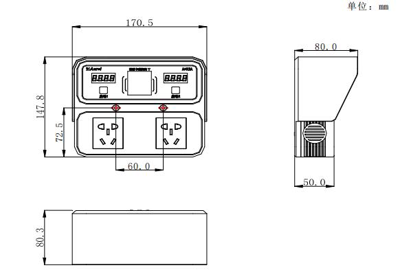 安科瑞ACX2A-YHN室内智能充电桩 2路充电 支持扫码/刷卡/语音播报