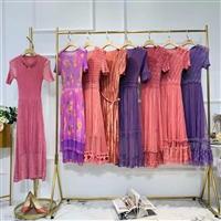 品牌杂款女装连衣裙处理,大量女装连衣裙短袖T恤