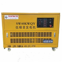 静音式40KW汽油发电机