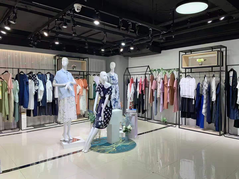 原创大码系列 YUEBU约布21夏版型宽松 广州华景国际品牌折扣女装