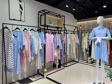 广州华景国际品牌折扣女装 棉麻原创系列 耶茜YEXI 21夏舒适放松