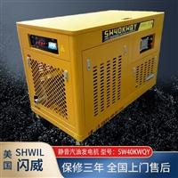 40KW汽油发电机美国闪威SW40KWQY