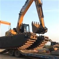 山東.濟南水陸兩用挖掘機出租改裝