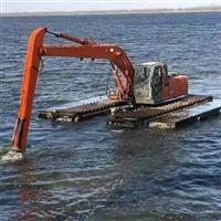 绵阳地区清淤机械设备出租水陆挖机出租船挖出租