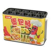 小K斯蛋包腸機 商用小吃設備燃氣全自動電熱早餐機器蛋爆腸蛋腸機
