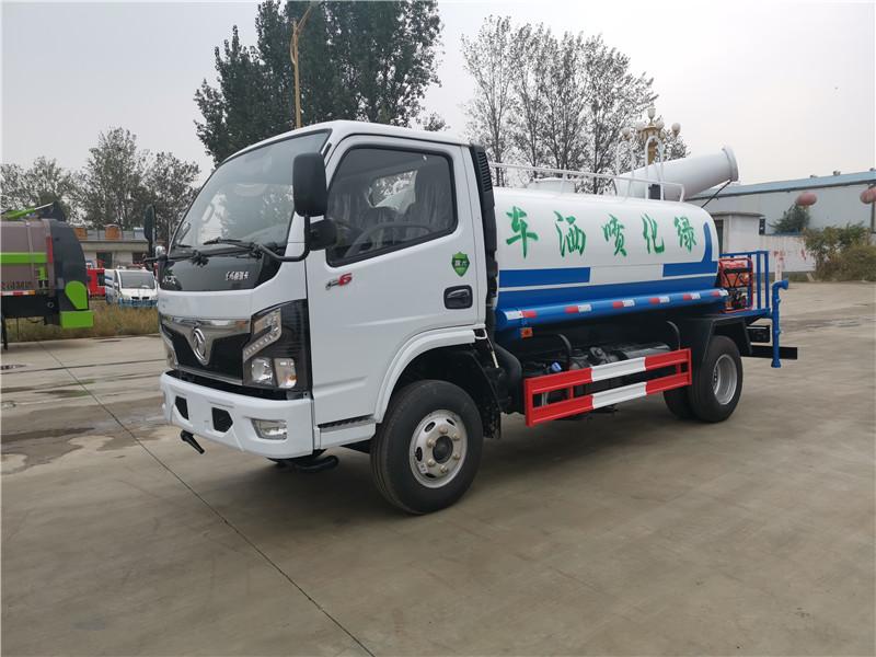 青岛蓝牌洒水车 5吨绿化洒水车厂家