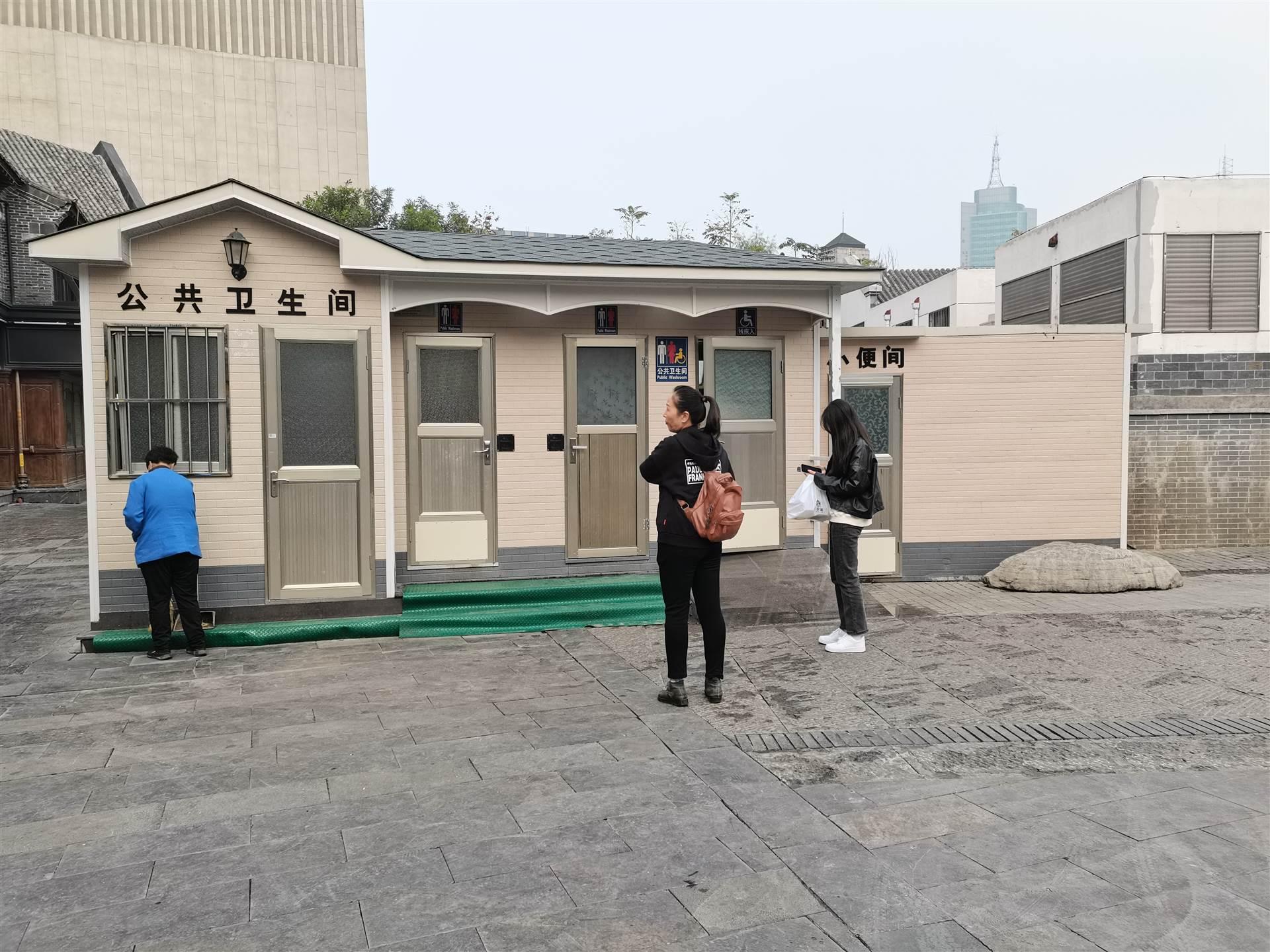 河源移动厕所_金属雕花板厕所定制_景区移动厕所