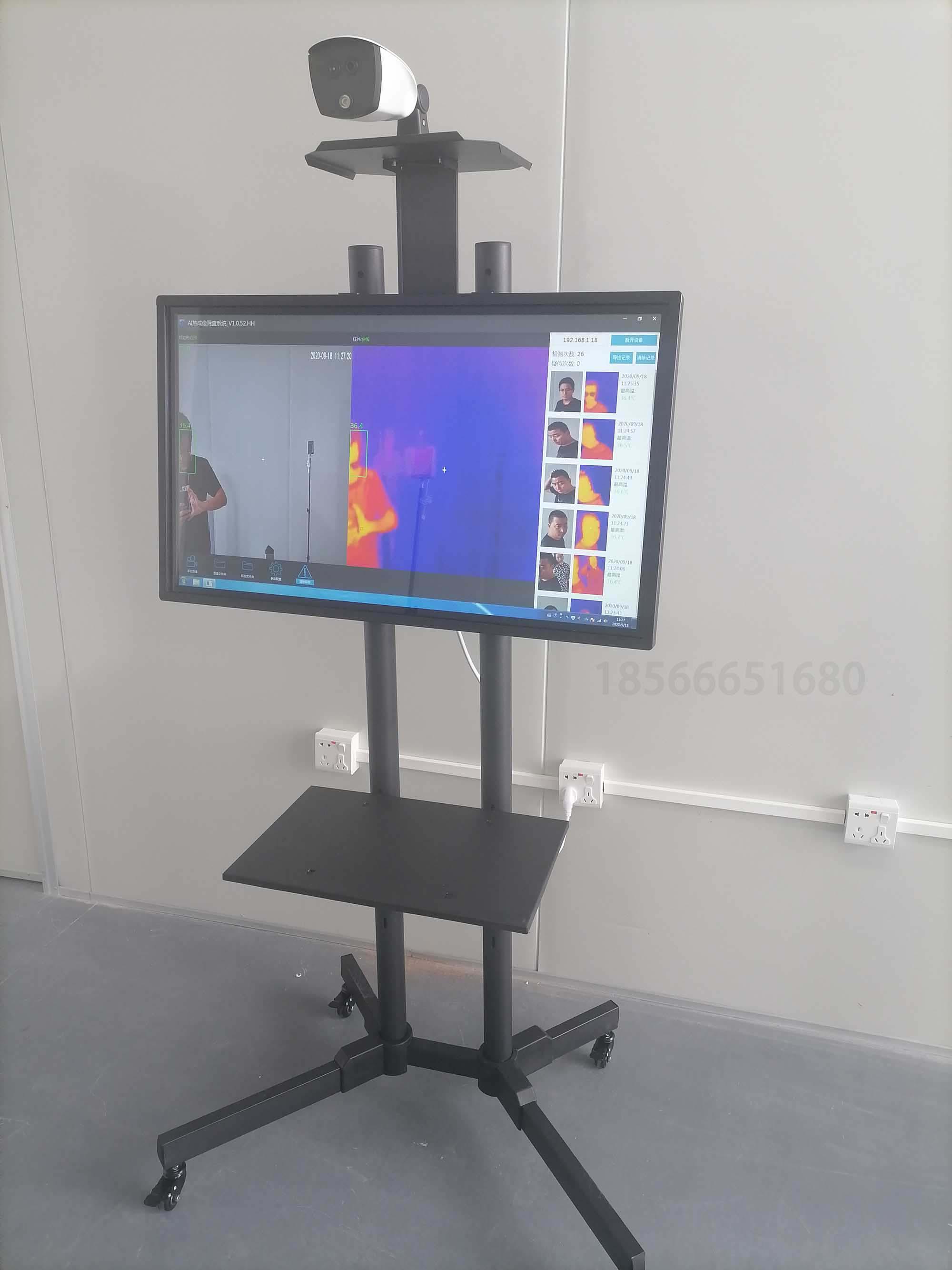 體溫檢測設備-熱成像測溫門-廠家價格