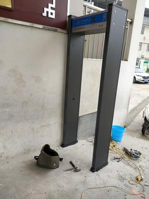通過式安檢門沒有聲音了-測溫門價格-廠家價格