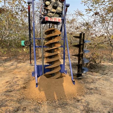 打电杆洞机器 新式栽电桩挖坑机械