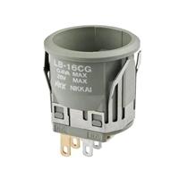 LB16WGW01发光按钮开关NKK