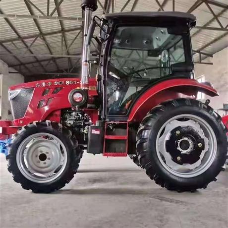 中型耕地机 低矮型果园拖拉机 山东裕达 强压多路阀四轮拖拉机