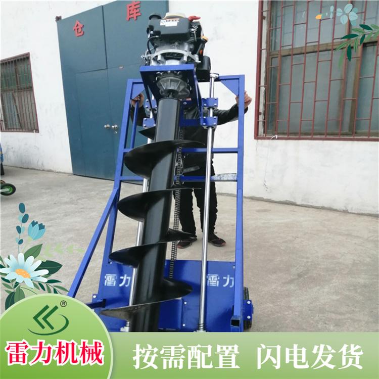 雷力管桩掏土机 桩芯孔取土机械无级变速