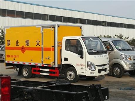 跃进国六火工品运输车,民爆器材专用车,国六小型爆破车厂家直供到重庆
