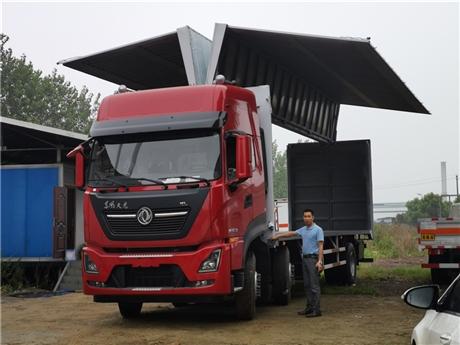 飞翼车厂家 东风9米6翼展车价格  厂家直接销售到重庆 河北