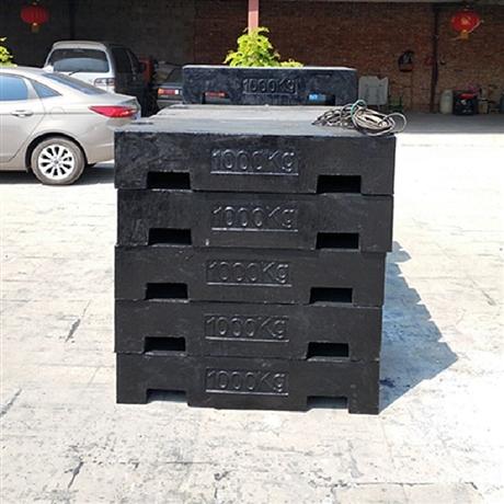 曲靖厂家销售1吨2吨3吨4吨5吨平板型锁型铸铁标准砝码