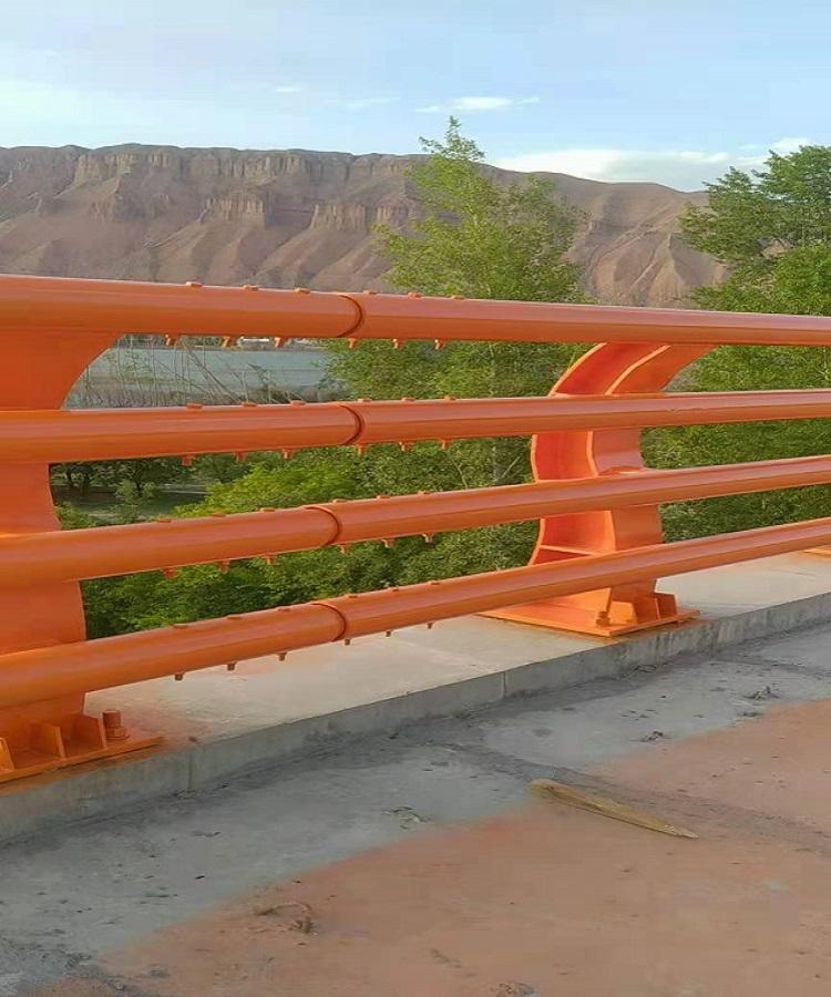 承德 碳素钢防撞栏杆 护栏立柱 桥梁护栏价格2021