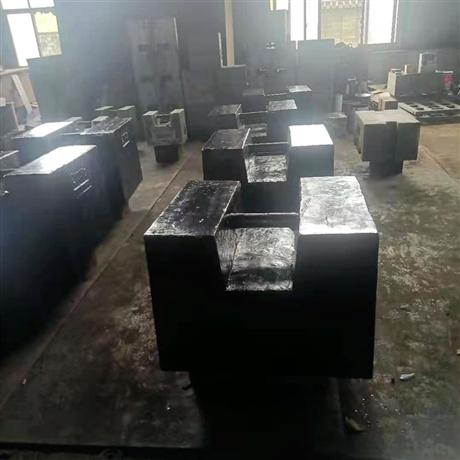永康砝码厂带检定2吨锁型铸铁砝码