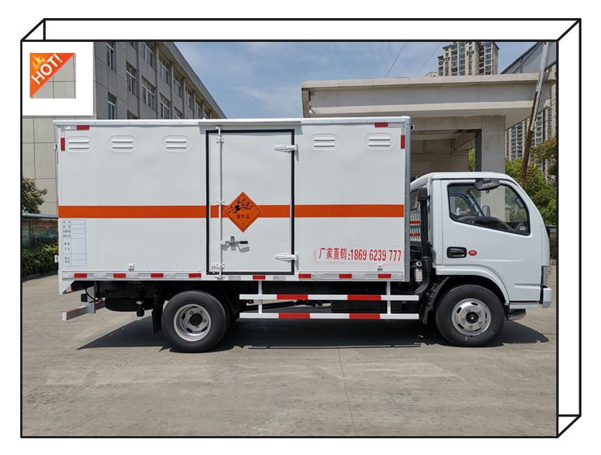 恩施东风爆破器材运输车 国六排放民爆运输车 多利卡厢式危险品运输车 价格