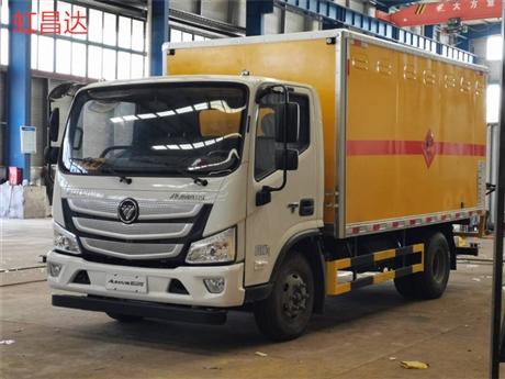 五吨国六一类爆破车,品质保证,福田欧马可单排或排半 火工品运输车