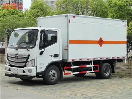 易爆危险品运输车,单排或排半五吨 福田欧马可爆破车