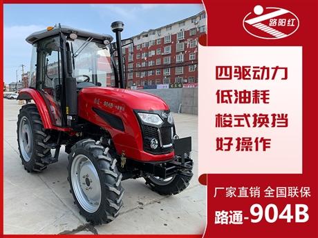 奇台县洛阳路通拖拉机经销处 90马力农用轮式四轮驱动拖拉机 厂家直供