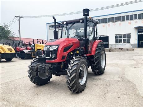 奇台县洛阳路通拖拉机经销处 140马力轮式农用四驱拖拉机 厂家直供