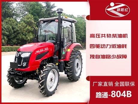 奇台县洛阳路通拖拉机经销处 80马力农用轮式四轮驱动拖拉机 厂家直供