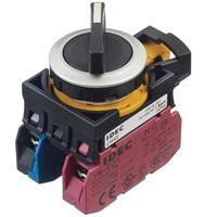 Idec和泉旋钮选择开关CW4S-21E11自动复位22毫米