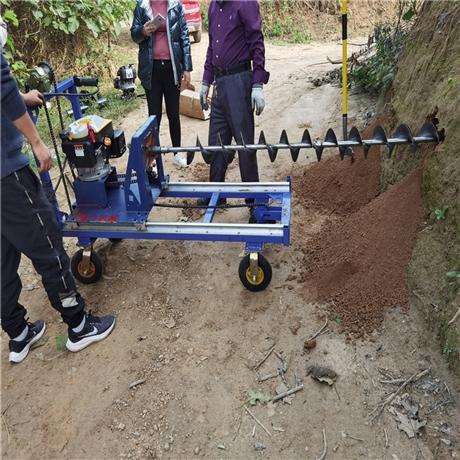 汽油通管打眼机 路下埋自来水管钻孔机器 LLZ225A导轨式